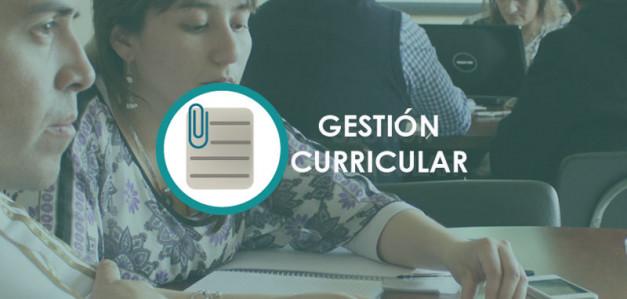 Evaluación de la gestión curricular