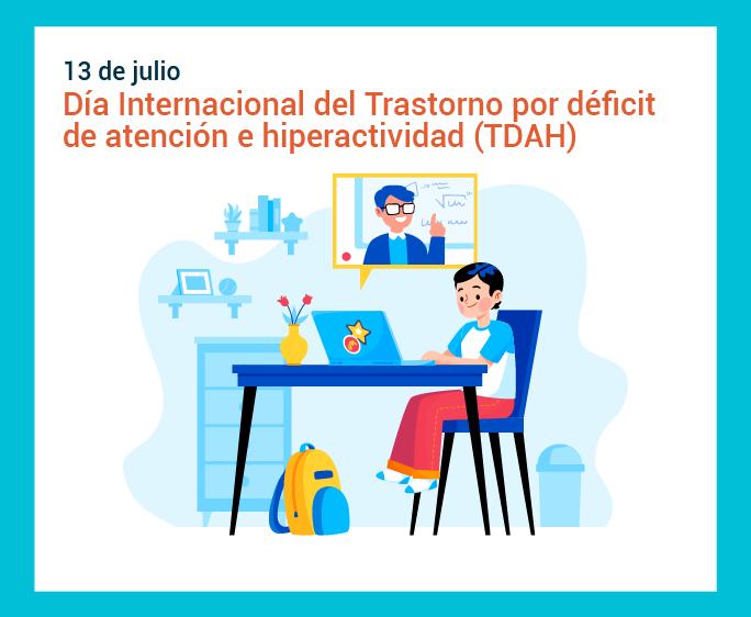Cartilla para familias de estudiantes con Trastorno por Déficit de Atención con Hiperactividad (TDAH)