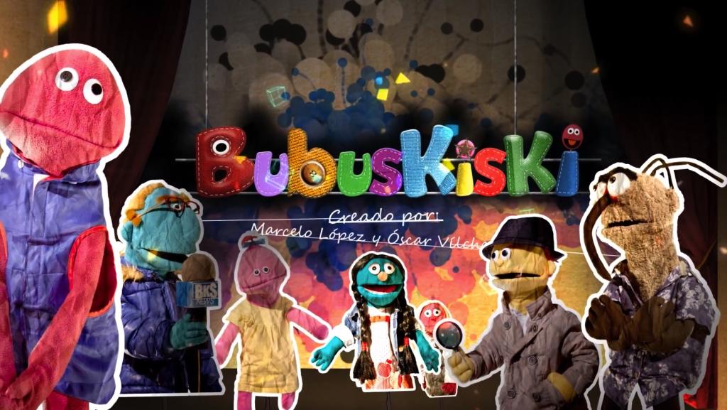 Captura de la imagen de inicio de un episodio de Bubuskiski